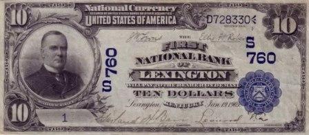 blue seal paper money